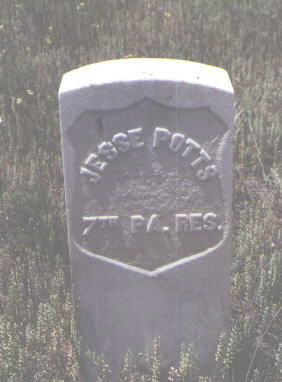 POTTS, JESSE - La Plata County, Colorado   JESSE POTTS - Colorado Gravestone Photos