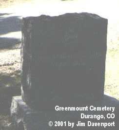 PULFORD, JOHN BRACKEN - La Plata County, Colorado | JOHN BRACKEN PULFORD - Colorado Gravestone Photos