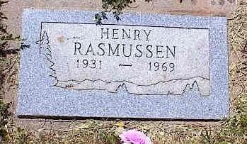 RASMUSSEN, HENRY - La Plata County, Colorado   HENRY RASMUSSEN - Colorado Gravestone Photos