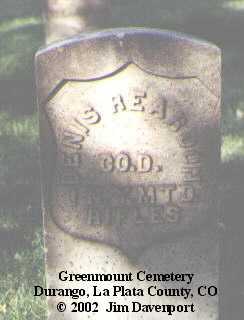 REARDON, DENNIS - La Plata County, Colorado | DENNIS REARDON - Colorado Gravestone Photos