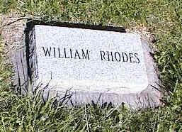 RHODES, WILLIAM - La Plata County, Colorado | WILLIAM RHODES - Colorado Gravestone Photos