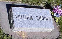 RHODES, WILLIAM - La Plata County, Colorado | WILLIAM RHODES - Colorado Gravestone Photos