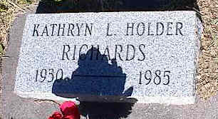 HOLDER RICHARDS, KATHRYN L. - La Plata County, Colorado | KATHRYN L. HOLDER RICHARDS - Colorado Gravestone Photos