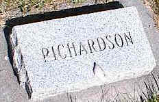 RICHARDSON, UNKNOWN - La Plata County, Colorado | UNKNOWN RICHARDSON - Colorado Gravestone Photos