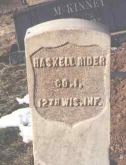 RIDER, HASKELL - La Plata County, Colorado | HASKELL RIDER - Colorado Gravestone Photos
