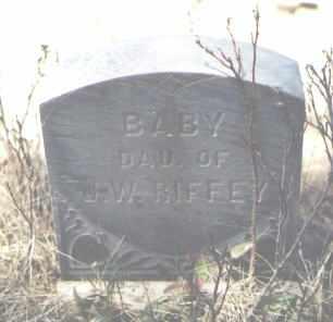 RIFFEY, BABY - La Plata County, Colorado | BABY RIFFEY - Colorado Gravestone Photos