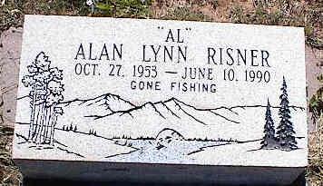 RISNER, ALAN LYNN - La Plata County, Colorado | ALAN LYNN RISNER - Colorado Gravestone Photos