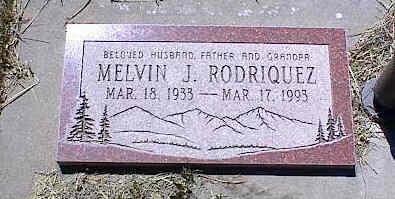 RODRIQUEZ, MELVIN J. - La Plata County, Colorado | MELVIN J. RODRIQUEZ - Colorado Gravestone Photos