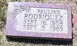 RODRIQUEZ, PAULINE - La Plata County, Colorado | PAULINE RODRIQUEZ - Colorado Gravestone Photos