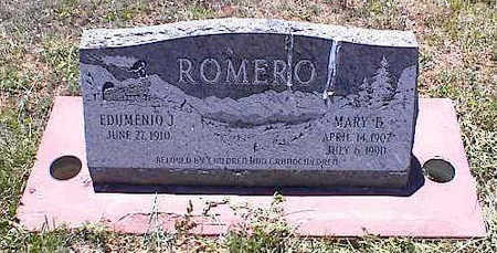 ROMERO, MARY F. - La Plata County, Colorado | MARY F. ROMERO - Colorado Gravestone Photos