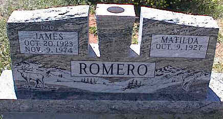 ROMERO, JAMES - La Plata County, Colorado | JAMES ROMERO - Colorado Gravestone Photos