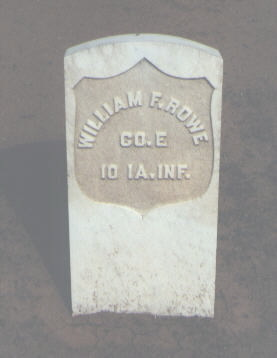 ROWE, WILLIAM F. - La Plata County, Colorado | WILLIAM F. ROWE - Colorado Gravestone Photos
