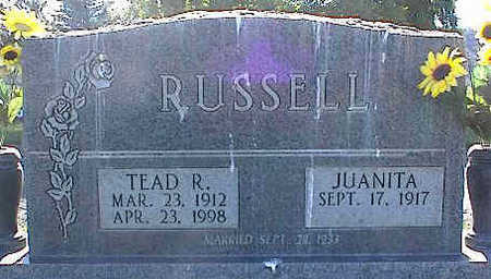 RUSSELL, TEAD R. - La Plata County, Colorado | TEAD R. RUSSELL - Colorado Gravestone Photos