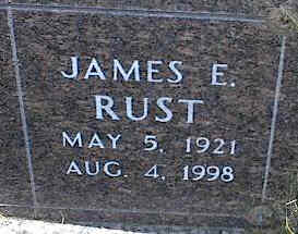 RUST, JAMES E. - La Plata County, Colorado | JAMES E. RUST - Colorado Gravestone Photos