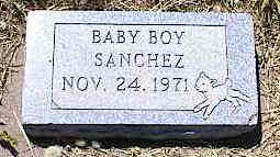 SANCHEZ, BABY BOY - La Plata County, Colorado | BABY BOY SANCHEZ - Colorado Gravestone Photos