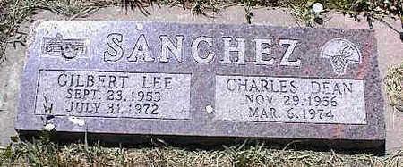 SANCHEZ, GILBERT LEE - La Plata County, Colorado | GILBERT LEE SANCHEZ - Colorado Gravestone Photos