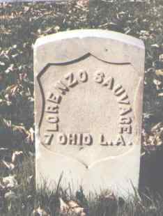 SAUVAGE, LORENZO - La Plata County, Colorado | LORENZO SAUVAGE - Colorado Gravestone Photos