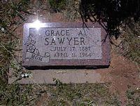 SAWYER, GRACE A. - La Plata County, Colorado | GRACE A. SAWYER - Colorado Gravestone Photos
