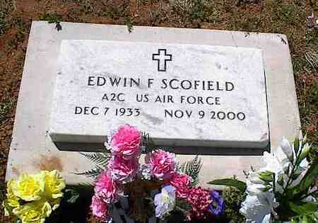 SCOFIELD, EDWIN F. - La Plata County, Colorado | EDWIN F. SCOFIELD - Colorado Gravestone Photos