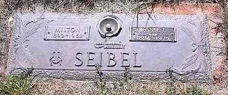 SEIBEL, MILTON - La Plata County, Colorado | MILTON SEIBEL - Colorado Gravestone Photos