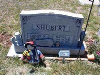 SHUBERT, CHESTER M. - La Plata County, Colorado | CHESTER M. SHUBERT - Colorado Gravestone Photos