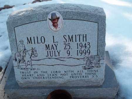 SMITH, MILO L. - La Plata County, Colorado   MILO L. SMITH - Colorado Gravestone Photos