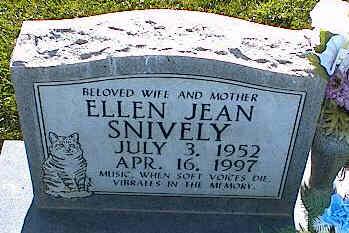 SNIVELY, ELLEN JEAN - La Plata County, Colorado | ELLEN JEAN SNIVELY - Colorado Gravestone Photos