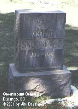 SNODGRASS, ARTHUR - La Plata County, Colorado | ARTHUR SNODGRASS - Colorado Gravestone Photos