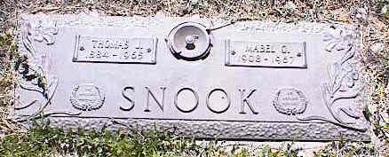 SNOOK, MABEL O. - La Plata County, Colorado | MABEL O. SNOOK - Colorado Gravestone Photos