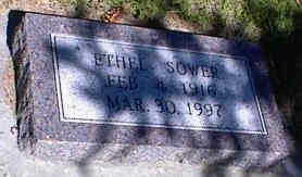 SOWER, ETHEL - La Plata County, Colorado | ETHEL SOWER - Colorado Gravestone Photos