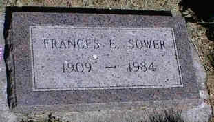 SOWER, FRANCES E. - La Plata County, Colorado | FRANCES E. SOWER - Colorado Gravestone Photos