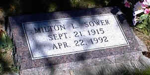 SOWER, MILTON L. - La Plata County, Colorado | MILTON L. SOWER - Colorado Gravestone Photos