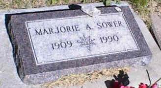 SOWER, MARJORIE A. - La Plata County, Colorado | MARJORIE A. SOWER - Colorado Gravestone Photos