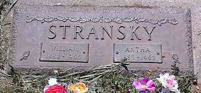 STRANSKY, WILLIAM - La Plata County, Colorado | WILLIAM STRANSKY - Colorado Gravestone Photos