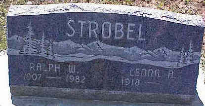 STROBEL, LENNA A. - La Plata County, Colorado | LENNA A. STROBEL - Colorado Gravestone Photos