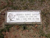 SUTTON, RODNEY DUANE - La Plata County, Colorado | RODNEY DUANE SUTTON - Colorado Gravestone Photos