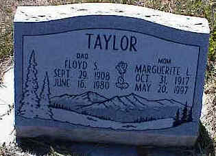 TAYLOR, FLOYD S. - La Plata County, Colorado | FLOYD S. TAYLOR - Colorado Gravestone Photos