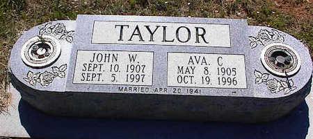 TAYLOR, JOHN W. - La Plata County, Colorado   JOHN W. TAYLOR - Colorado Gravestone Photos