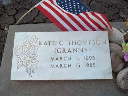 "THOMPSON, KATE C. ""GRANNY"" - La Plata County, Colorado   KATE C. ""GRANNY"" THOMPSON - Colorado Gravestone Photos"