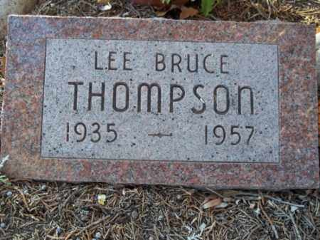 THOMPSON, LEE BRUCE - La Plata County, Colorado | LEE BRUCE THOMPSON - Colorado Gravestone Photos