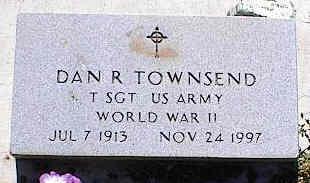 TOWNSEND, DAN R. - La Plata County, Colorado | DAN R. TOWNSEND - Colorado Gravestone Photos
