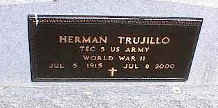 TRUJILLO, HERMAN - La Plata County, Colorado | HERMAN TRUJILLO - Colorado Gravestone Photos