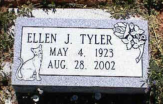 TYLER, ELLEN J. - La Plata County, Colorado | ELLEN J. TYLER - Colorado Gravestone Photos