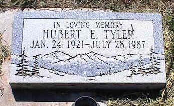 TYLER, HUBERT E. - La Plata County, Colorado | HUBERT E. TYLER - Colorado Gravestone Photos