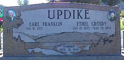 UPDIKE, ETHEL CROSBY - La Plata County, Colorado | ETHEL CROSBY UPDIKE - Colorado Gravestone Photos