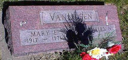 VANDUSEN, MARY E. - La Plata County, Colorado | MARY E. VANDUSEN - Colorado Gravestone Photos