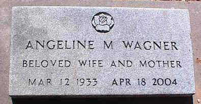 WAGNER, ANGELINE M. - La Plata County, Colorado | ANGELINE M. WAGNER - Colorado Gravestone Photos
