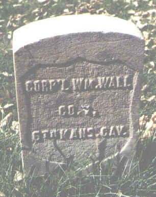 WALL, WM. - La Plata County, Colorado | WM. WALL - Colorado Gravestone Photos