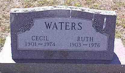 WATERS, CECIL - La Plata County, Colorado | CECIL WATERS - Colorado Gravestone Photos