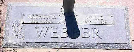 WEBBER, ALLIE - La Plata County, Colorado | ALLIE WEBBER - Colorado Gravestone Photos